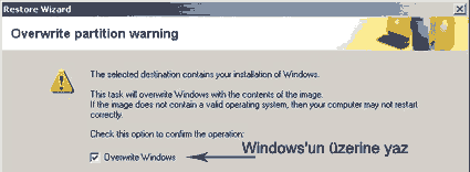 windows uyarısı